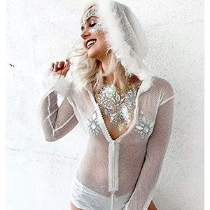IHeartraves snow bunny bodysuit 🐇